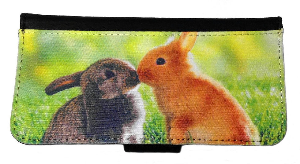 BUNNY RABBITS - LEATHER WALLET