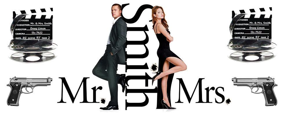MR AND MRS SMITH CERAMIC MUG