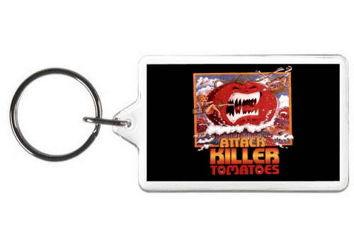 ATTACK OF THE KILLER TOMATOES KEYCHAIN