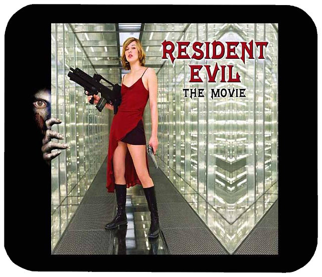RESIDENT EVIL MOUSE PAD