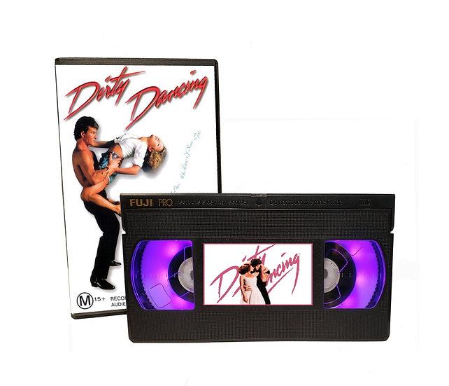 DIRTY DANCING VHS MOVIE NIGHT LIGHT