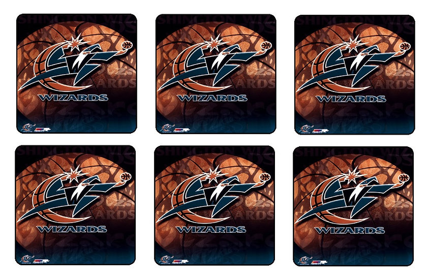 WASHINGTON WIZARDS BEVERAGE COASTERS