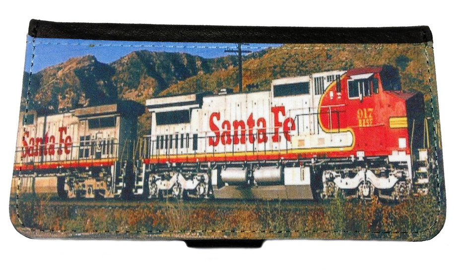SANTA FE TRAIN IPHONE OR GALAXY CELL PHONE CASE WALLET