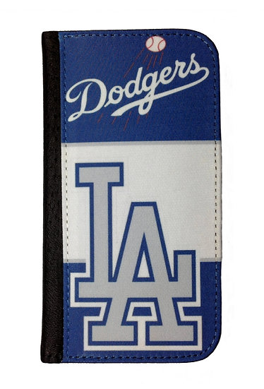 LOS ANGELES DODGERS (wh) - LEATHER WALLET