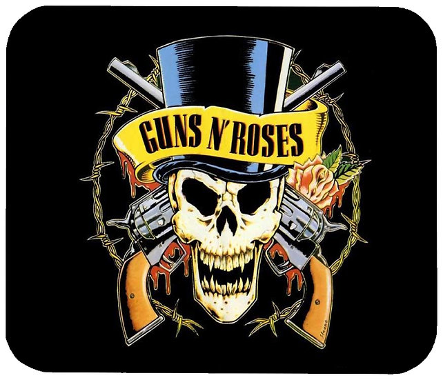 GUNS & ROSES MOUSE PAD