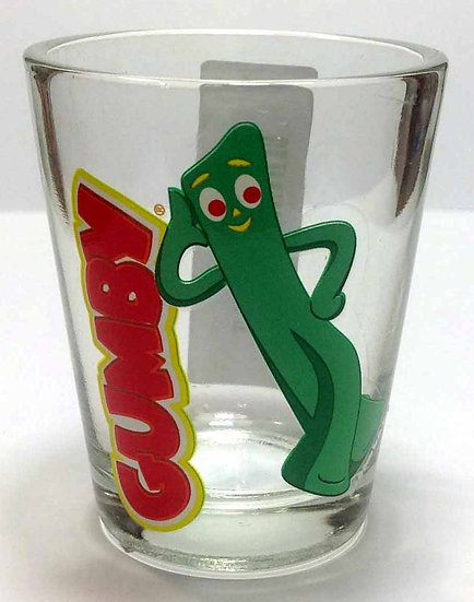 GUMBY (LEANING) - SHOT GLASS