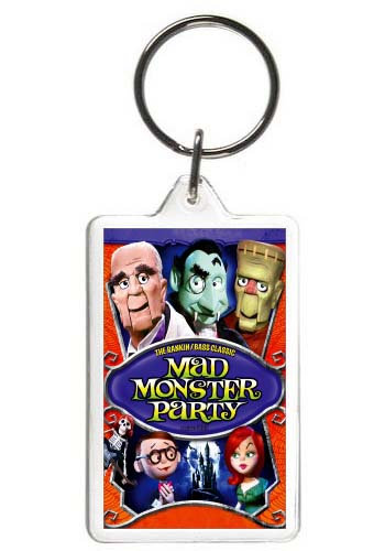 MAD MONSTER PARTY KEYCHAIN