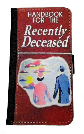 BEETLEJUICE RECENTLY DECEASED - LEATHER WALLET