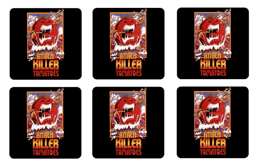 ATTACK OF THE KILLER TOMATOES COASTERS