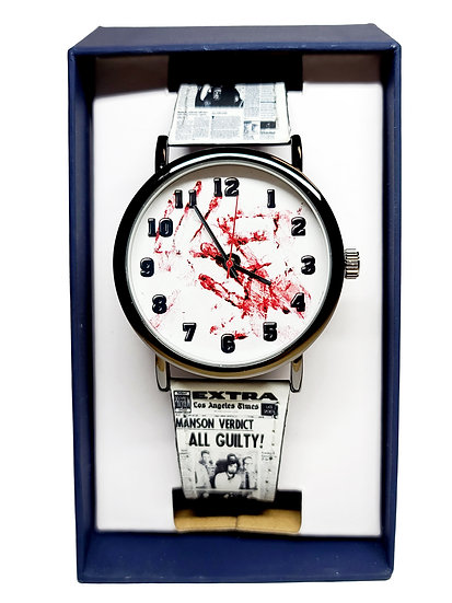 SERIAL KILLERS WRIST WATCH or BAND