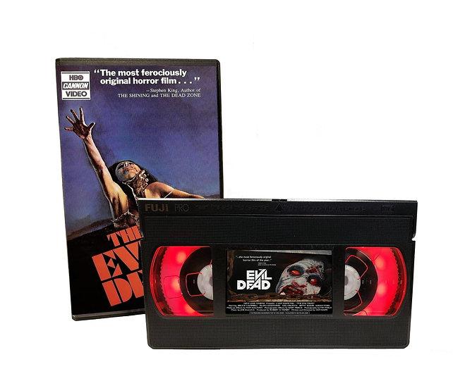 EVIL DEAD VHS MOVIE NIGHT LIGHT