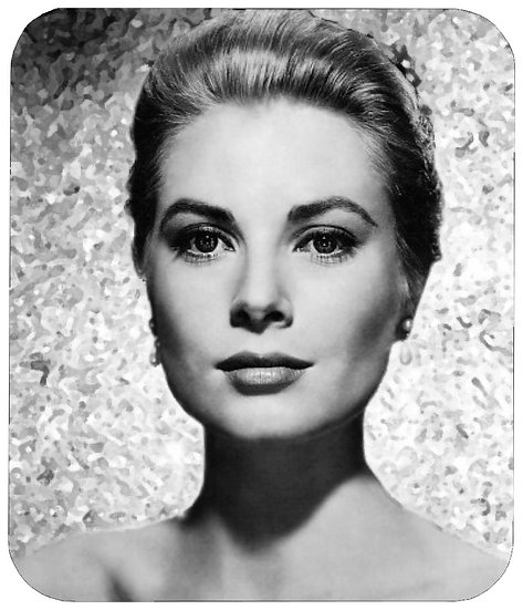GRACE KELLY MOUSE PAD