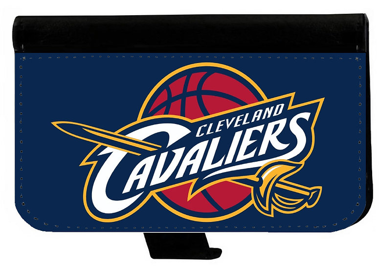 CLEVELAND CAVALIERS IPHONE OR GALAXY CELL PHONE CASE WALLET