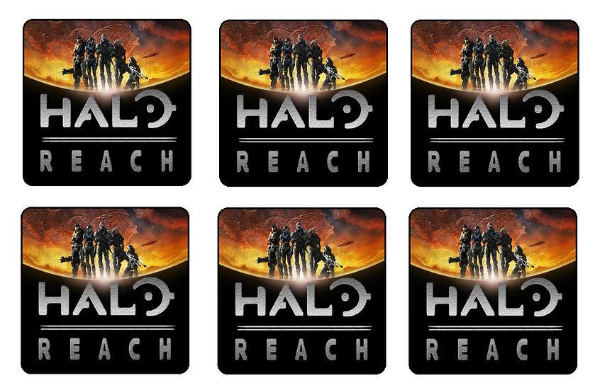 HALO REACH BEVERAGE COASTERS