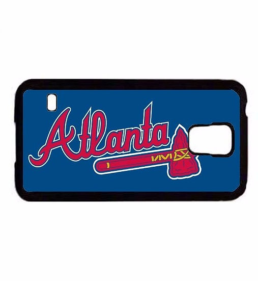 ATLANTA BRAVES (bl) - RUBBER GRIP