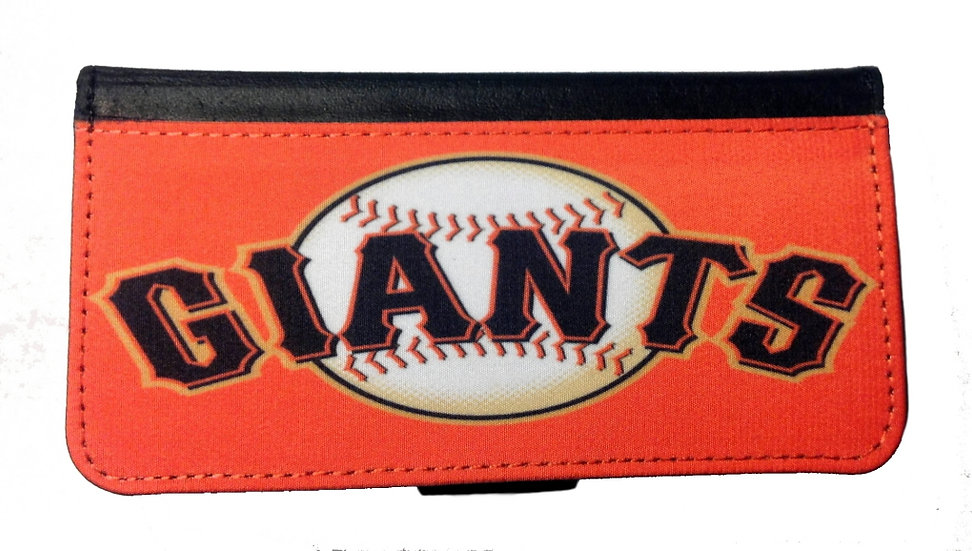 SAN FRANCISCO GIANTS - LEATHER WALLET