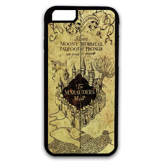 HARRY POTTERS MARAUDERS MAP - RUBBER GRIP