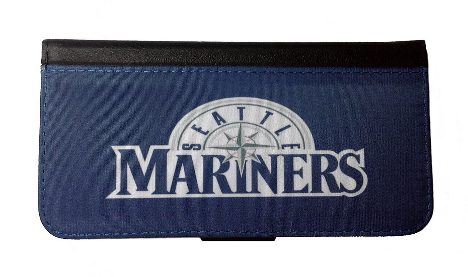 SEATTLE MARINERS IPHONE OR GALAXY CELL PHONE WALLET