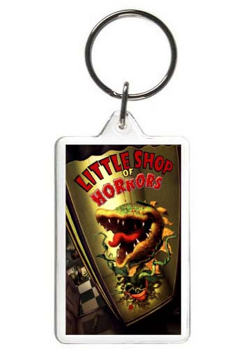 LITTLE SHOP OF HORRORS KEYCHAIN