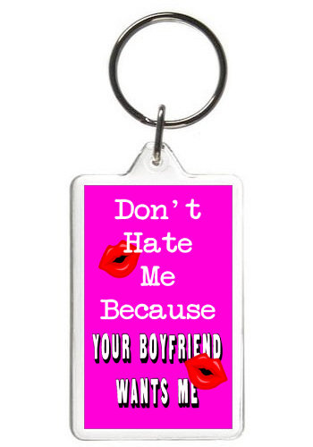 DON'T HATE ME - KEY CHAIN
