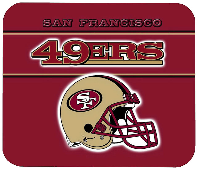 SAN FRANCISCO 49ERS MOUSE PAD - (R)