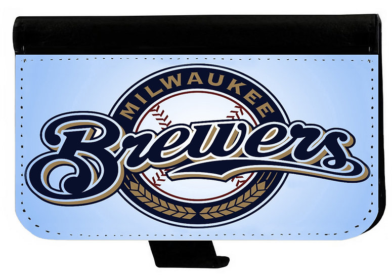 MILWAUKEE BREWERS - LEATHER WALLET