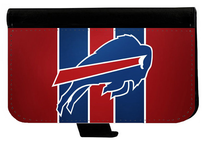 BUFFALO BILLS IPHONE OR GALAXY CELL PHONE CASE WALLET