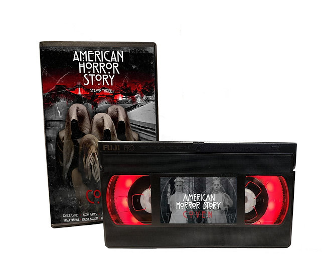 AMERICAN HORROR STORY THE COVEN VHS MOVIE NIGHT LIGHT