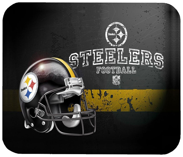 PITTSBURGH STEELERS MOUSE PAD - (HEL)