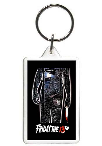 FRIDAY THE 13TH KEYCHAIN - (TOR)