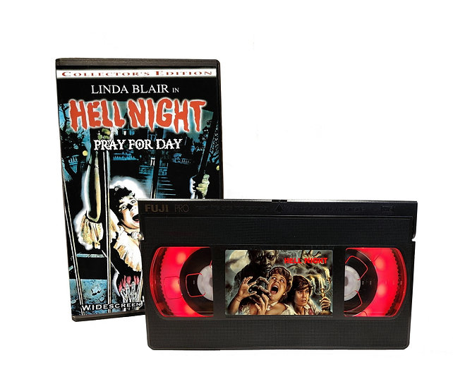 HELL NIGHT VHS MOVIE NIGHT LIGHT