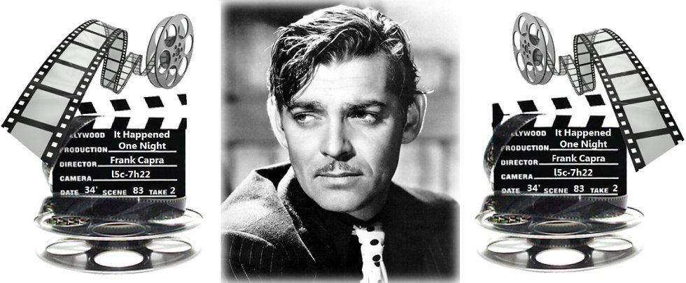 CLARK GABLE CERAMIC MUG