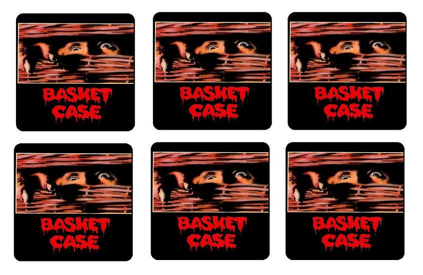 BASKET CASE BEVERAGE COASTERS
