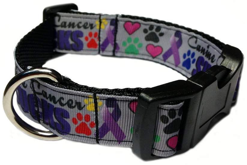 CANINE CANCER DOG COLLAR