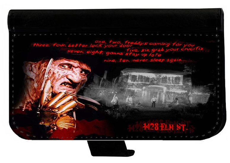A NIGHTMARE ON ELM STREET (house) - LEATHER WALLET