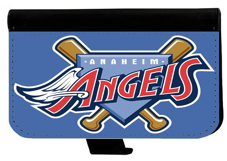 ANAHEIM ANGELS IPHONE OR GALAXY CELL PHONE WALLET