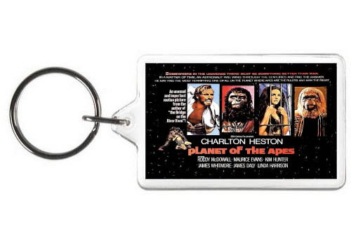 PLANET OF THE APES KEYCHAIN