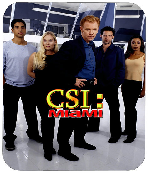 CSI MIAMI MOUSE PAD - (001)