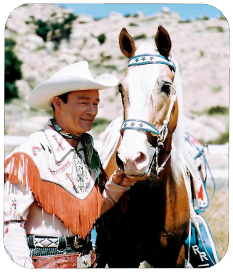 ROY ROGERS MOUSE PAD - (H)