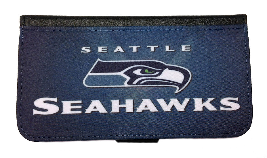 SEATTLE SEAHAWKS IPHONE OR GALAXY CELL PHONE CASE WALLET