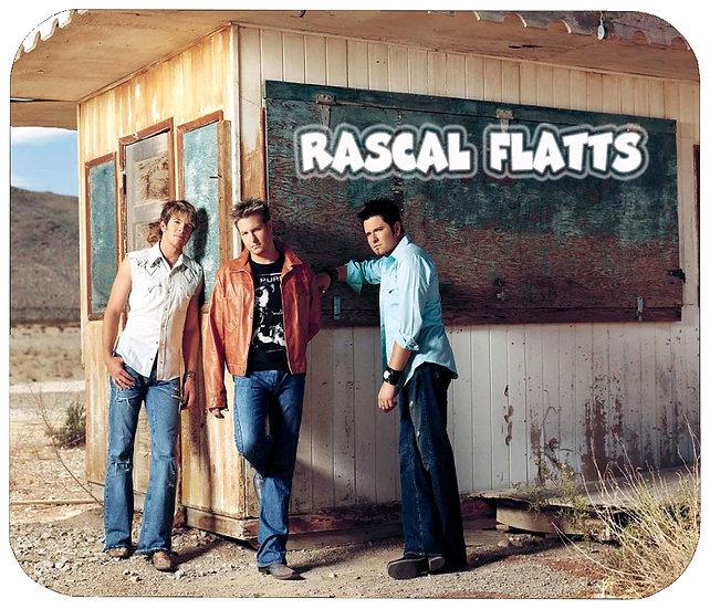 RASCAL FLATTS MOUSE PAD
