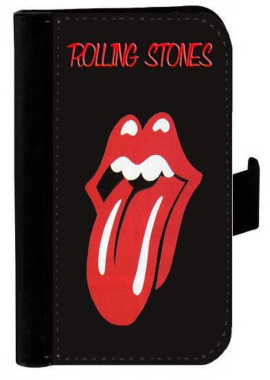 ROLLING STONES IPHONE OR GALAXY WALLET