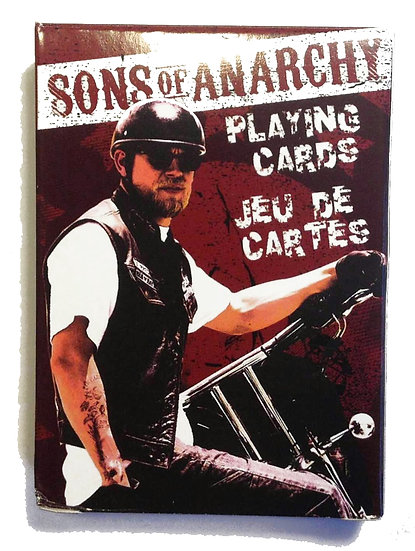 SONS OF ANARCHY PLAYING CARDS