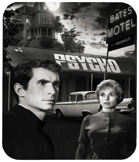PSYCHO (ANTHONY PERKINS) MOUSE PAD