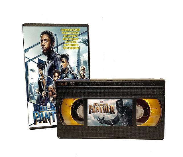 BLACK PANTHER VHS MOVIE NIGHT LIGHT