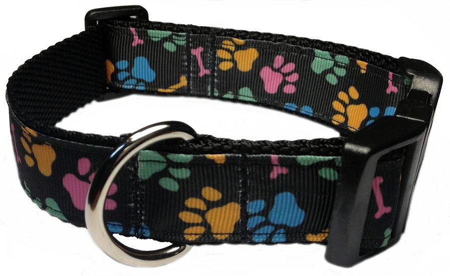 DOG PAW & BONES DOG COLLAR