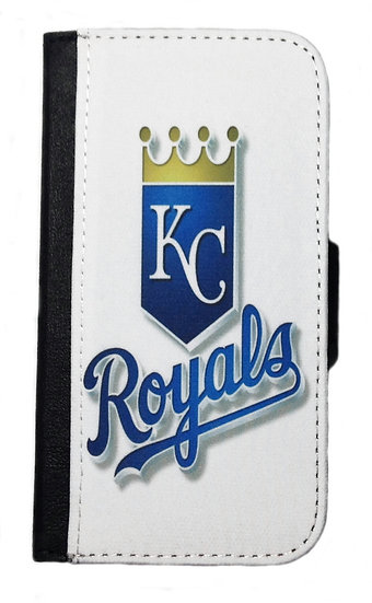 KANSAS CITY ROYALS IPHONE OR GALAXY CELL PHONE WALLET