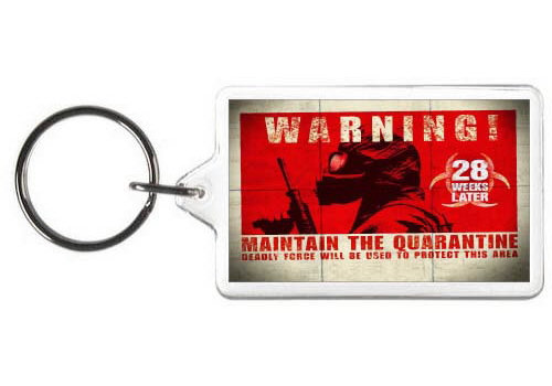 28 WEEKS LATER KEYCHAIN