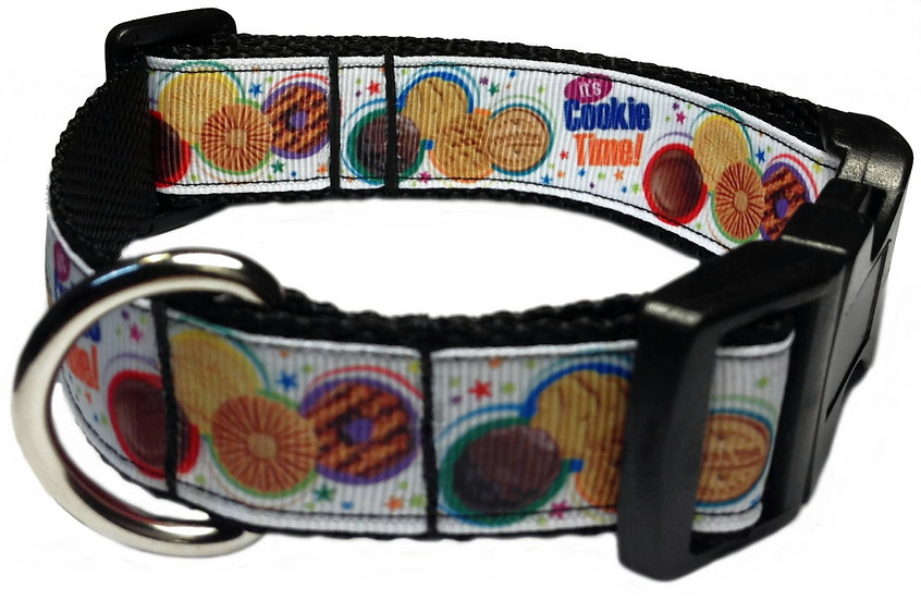 COOKIE TIME DOG COLLAR