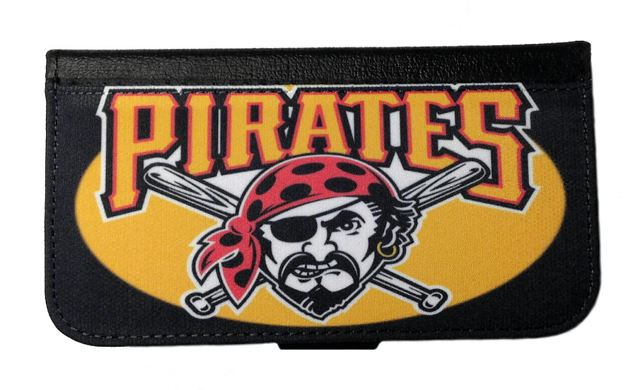 PITTSBURGH PIRATES IPHONE OR GALAXY CELL PHONE WALLET